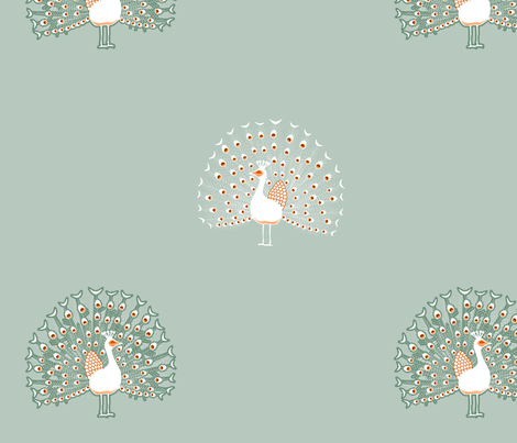 peacockgray fabric by mrshervi on Spoonflower - custom fabric