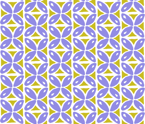lime n' lavender drops fabric by zantoka on Spoonflower - custom fabric