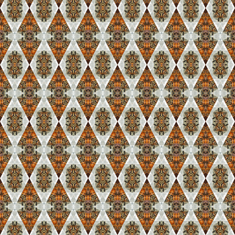 honey_bees_3B_2_inch fabric by heidirand on Spoonflower - custom fabric