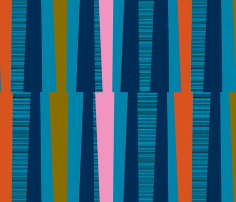 Truffaut's Stripes fabric by erinina on Spoonflower - custom fabric