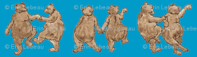 dancing bears-blue