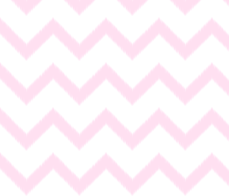 Pink Chevron Ikat fabric by prettyshinysparkly on Spoonflower - custom fabric