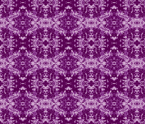 Raspberry Ice tone-on-tone_purple_asters_9_24_07_005-ch-ch fabric by khowardquilts on Spoonflower - custom fabric