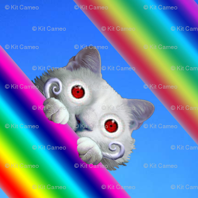 Voyeur Cat's Rainbows Version 1