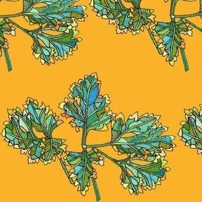 parsley in orange