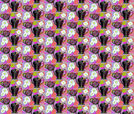 teapots fabric by koalalady on Spoonflower - custom fabric