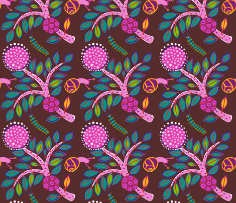 Maleleuca fabric by yellowstudio on Spoonflower - custom fabric