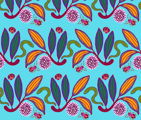 Hakea fabric by yellowstudio on Spoonflower - custom fabric