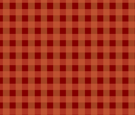 Red Plaid fabric by asilo on Spoonflower - custom fabric