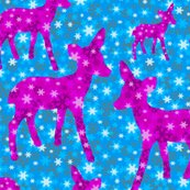 Rrchristmas_deer_pink_on_snowflakes_16inch_tile_spoon_copy_shop_thumb