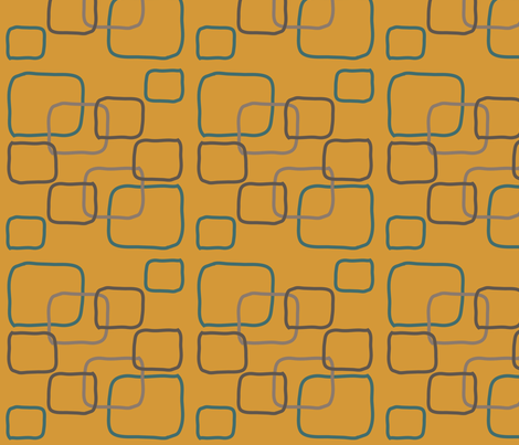 Squares fabric by wastenotsaks on Spoonflower - custom fabric