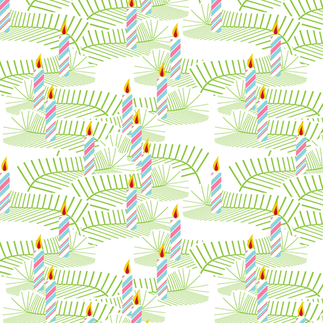 Well Lit - Baby fabric by inscribed_here on Spoonflower - custom fabric