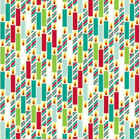 Candle Candy - Humbug fabric by inscribed_here on Spoonflower - custom fabric