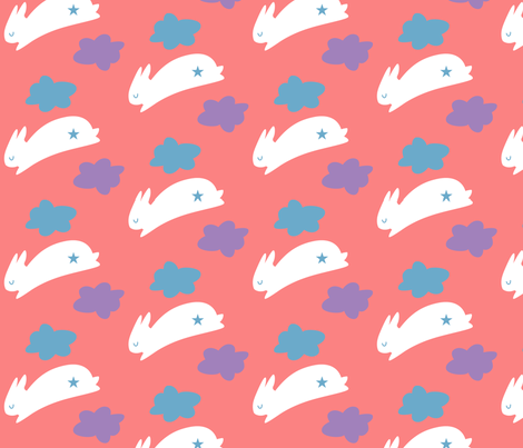Hoppy day fabric by malien00 on Spoonflower - custom fabric