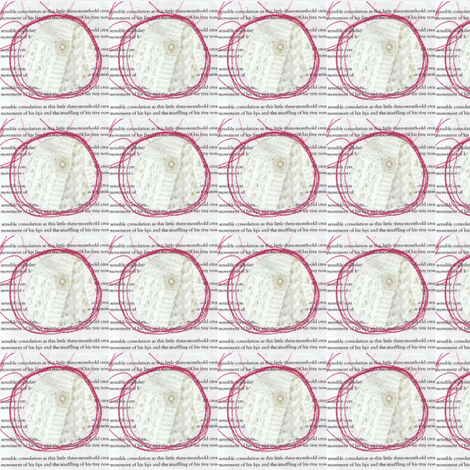 textdetailbutton fabric by petals_&_berries on Spoonflower - custom fabric