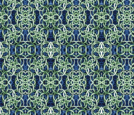 Knot Number Six Mirror fabric by helenklebesadel on Spoonflower - custom fabric