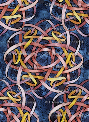 Borromean Knot Three Mirror