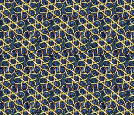 Borromean Knot One fabric by helenklebesadel on Spoonflower - custom fabric