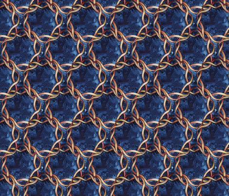 Knot Number Three fabric by helenklebesadel on Spoonflower - custom fabric