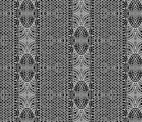 Fishnet Lace fabric by paula_prints on Spoonflower - custom fabric