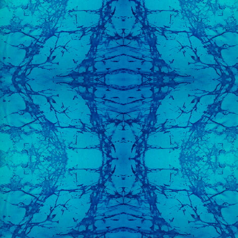 BLUEWATERZ-LG  by SUE DUDA fabric by suedudadesigns on Spoonflower - custom fabric