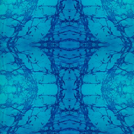 BLUEWATERZ-LG  by SUE DUDA fabric by suedudadesigns on Spoonflower - custom fabric