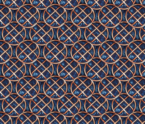 Knot Number One fabric by helenklebesadel on Spoonflower - custom fabric