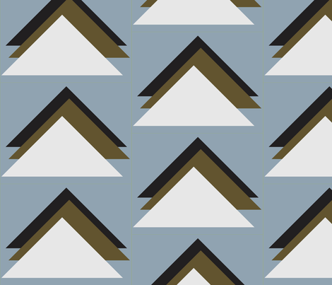 triangles4 fabric by dolphinandcondor on Spoonflower - custom fabric