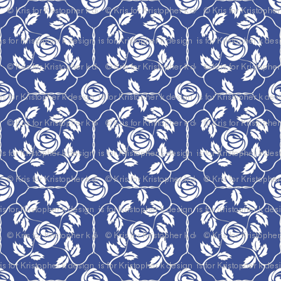 Delft Rose - White