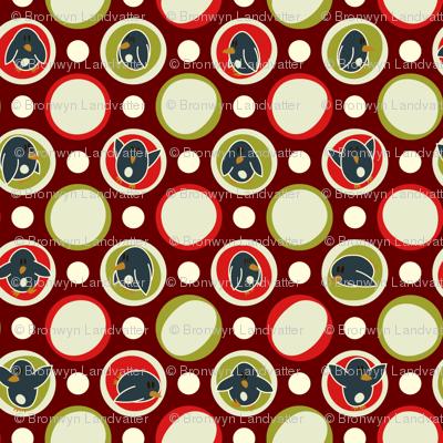 Mod Geo Xmas: Penguin Dot