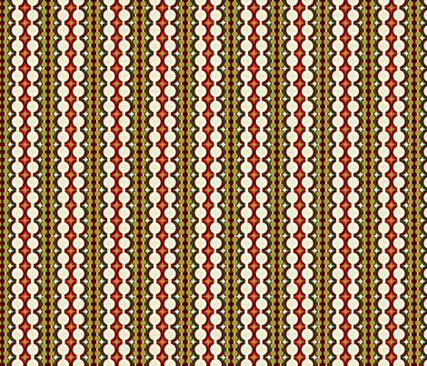 Mod Geo Xmas: Festive Geo fabric by bronhoffer on Spoonflower - custom fabric