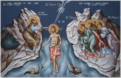 Theophany Icon Panels