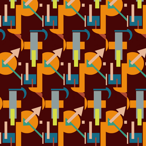 Deco Time fabric by boris_thumbkin on Spoonflower - custom fabric