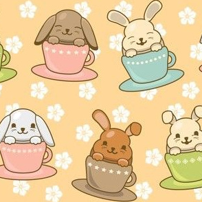 Buns in Teacups