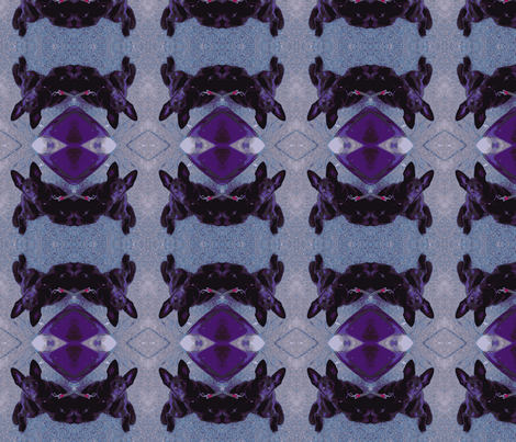 Purple pup fabric by murrday on Spoonflower - custom fabric