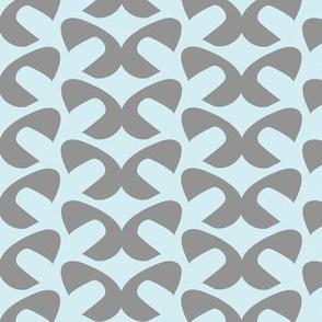 Blue Grey Mod Pods