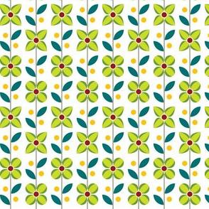 Double Flower Geometric