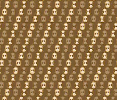 Time Turner fabric by jackiehahnillustration on Spoonflower - custom fabric