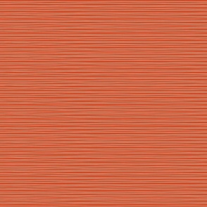 Blast wavy stripe on orange