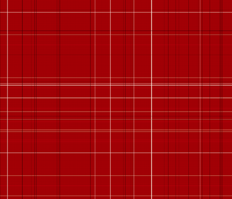 Apple Days red plaid fabric by kamiekazee on Spoonflower - custom fabric