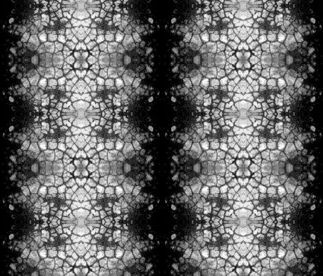 TAYLORED KRAKLZ (blk/wht) by SUE DUDA fabric by suedudadesigns on Spoonflower - custom fabric
