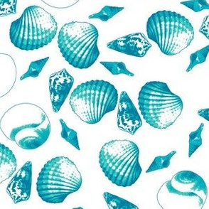 Shell-Mell - Tropical Seas-White