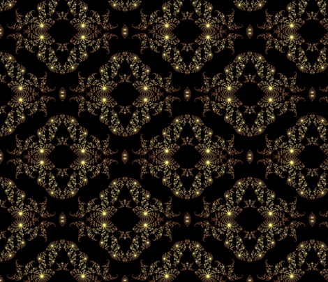 Fractal Fantasy Time Warp fabric by grannynan on Spoonflower - custom fabric