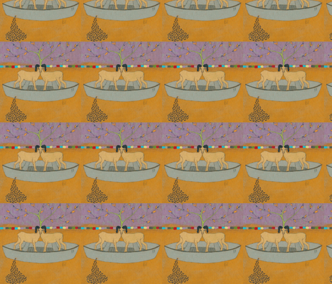 no_one_said_it_would_be_easy fabric by tokenemotion on Spoonflower - custom fabric