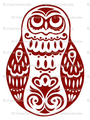 Swirls Original Owl