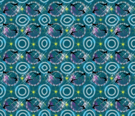 time after time after time fabric by tracydw70 on Spoonflower - custom fabric