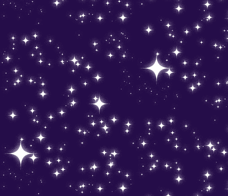 Starry fabric by felis_astrum on Spoonflower - custom fabric