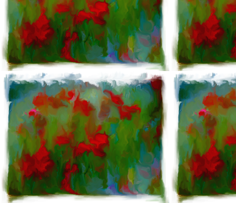 Poppies fabric by mur on Spoonflower - custom fabric