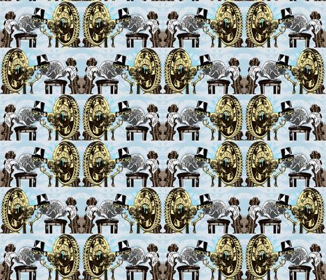 Professor Glaucomy's Mad Flight fabric by rayne on Spoonflower - custom fabric