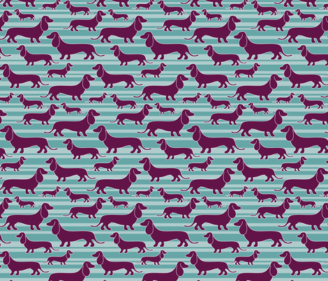 hotdogs fabric by patternhillstudio on Spoonflower - custom fabric